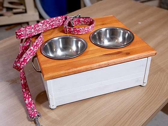 Psí jídelnu ze staré šuplíkové skříňky zvládnete jednoduše (Zdroj: Archiv FTV Prima, se svolením FTV Prima)