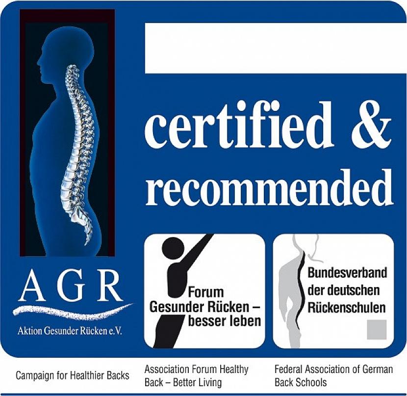 Certifikát AGR