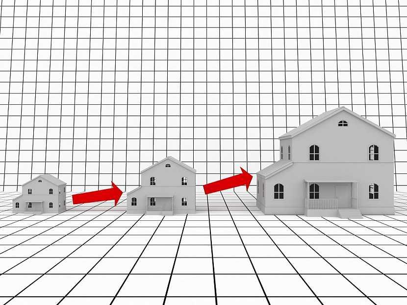 Velikost domu a podlahová plocha není klíčovým prvkem, důležitější je dispozice místností domu, jejich půdorys a využitelnost prostoru