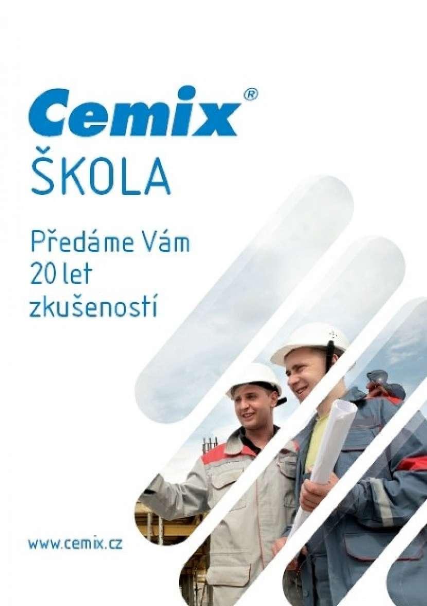 Společnost LB Cemix zve k účasti v Cemix škole