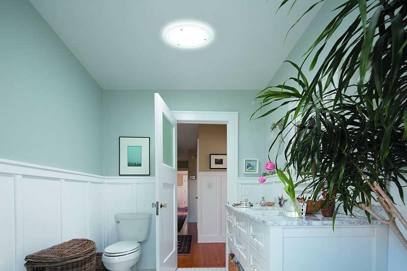 světlovod v koupelně