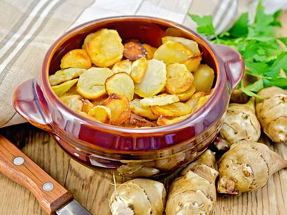 Topinambury jsou chutnou náhradou brambor, vhodnou i pro diabetiky Depositphotos (https://cz.depositphotos.com)