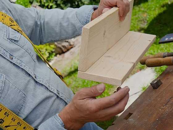 Jak na spojení dřeva pomocí lamel? (Zdroj: Prima DOMA)