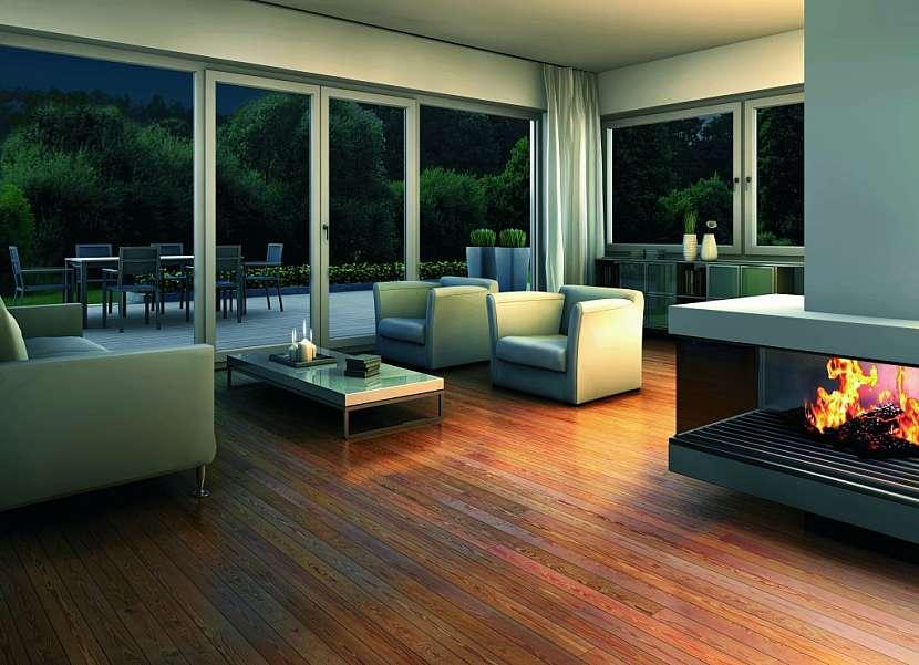 Pasivní dům jen s nejlepšími okenními profily Eforte