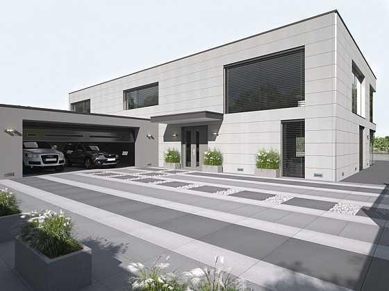 Luxusní velkoformátová dlažba (Zdroj: Presbeton)