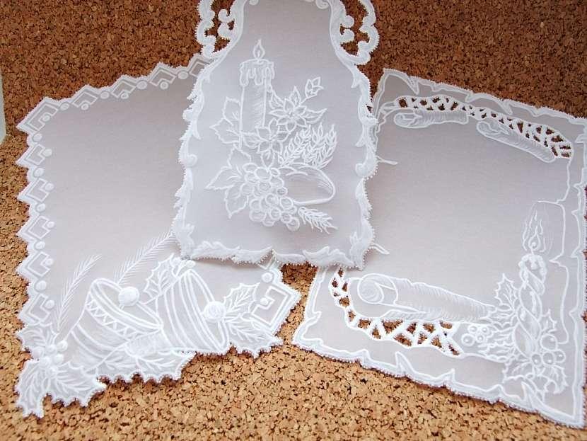 Přání malované, s perlami i třpytkami - zdobení pergamanového přání