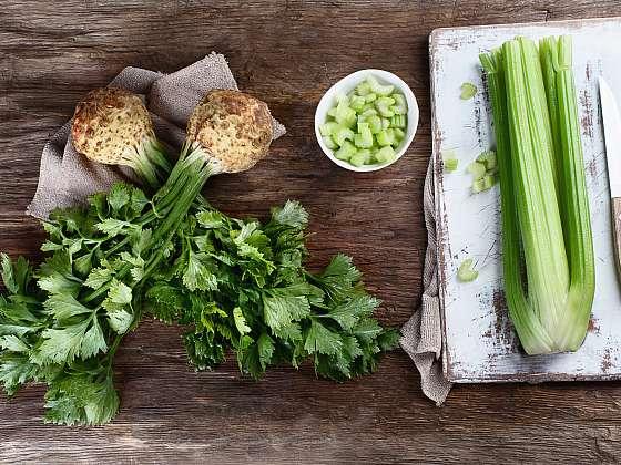 Celer se pěstuje především z důvodu prospěšnosti pro lidské zdraví (Zdroj: Depositphotos (https://cz.depositphotos.com))