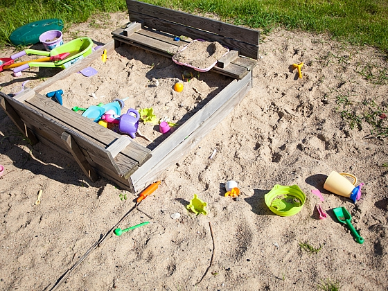 Máte dětské pískoviště? (Zdroj: Depositphotos)