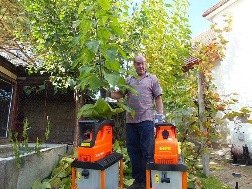 Zpracování větví a dřevního odpadu