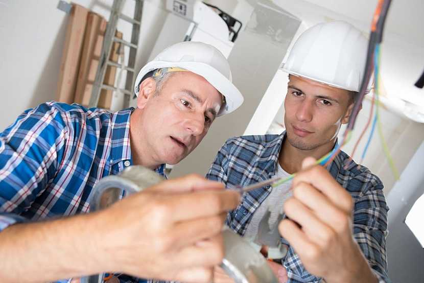 Konzultujte možnosti elektroinstalace s projektantem