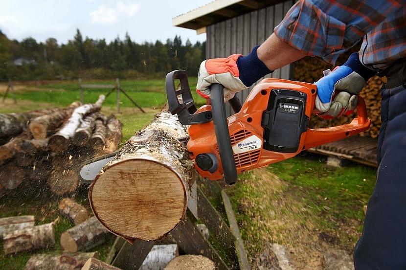 Než si letos zatopíte, objevte v sobě kousek dřevorubce aneb Řezání dřeva