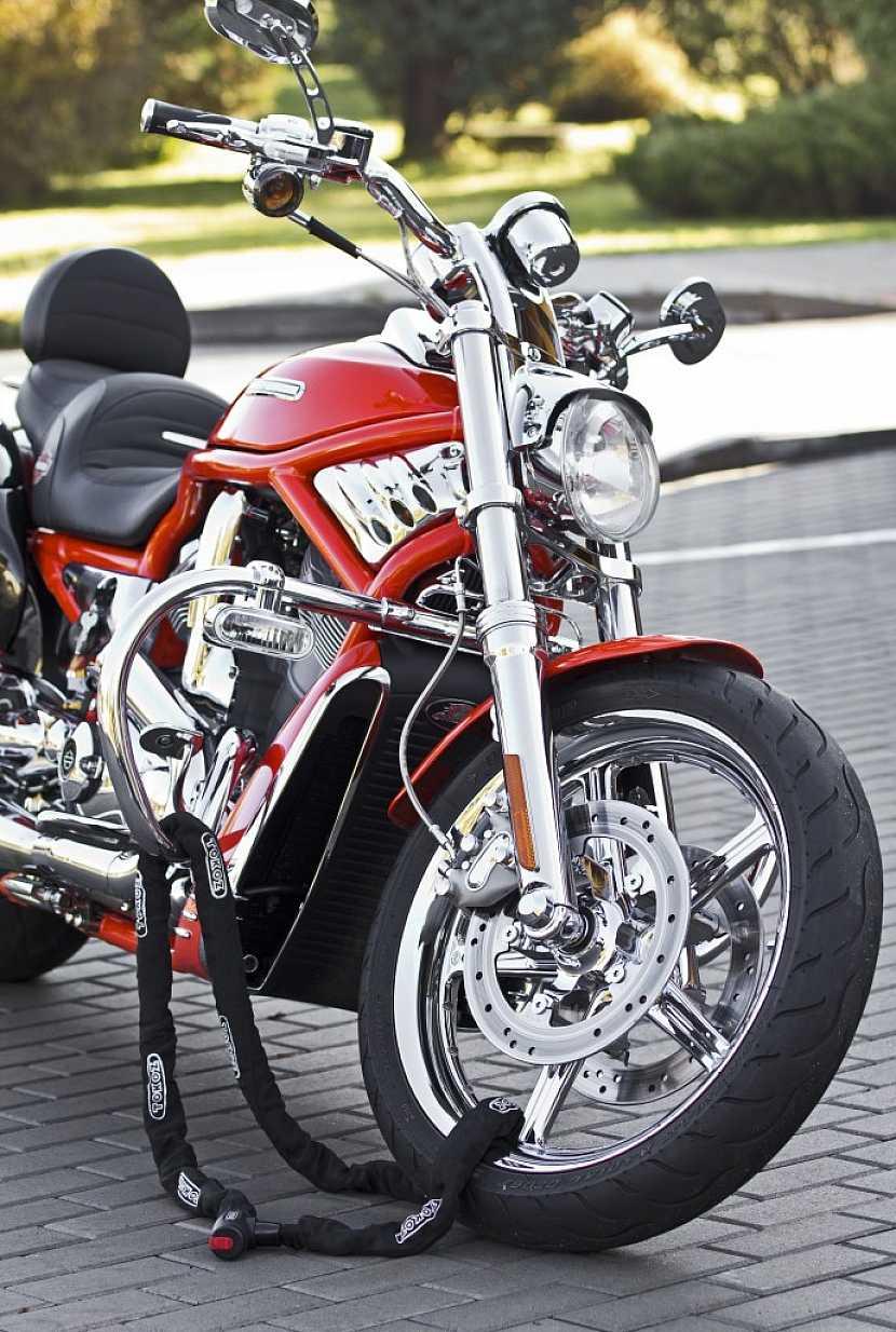 Zabezpečení pro motorky s Tokoz