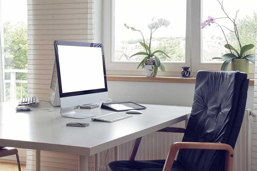 Umístění v blízkosti okna zajistí dostatek denního světla