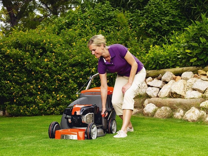 Práce na zahradě bez námahy a jako relax