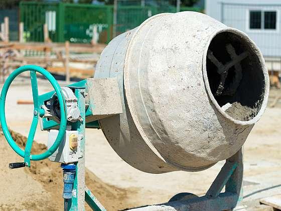 Velikost bubnu a příkon míchačky záleží na intenzitě jejího využití (Zdroj: Depositphotos)