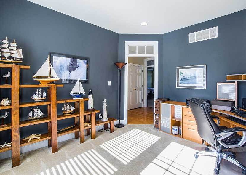 Máme-li velký byt, vyčleníme si jako pracovnu samostatnou místnost