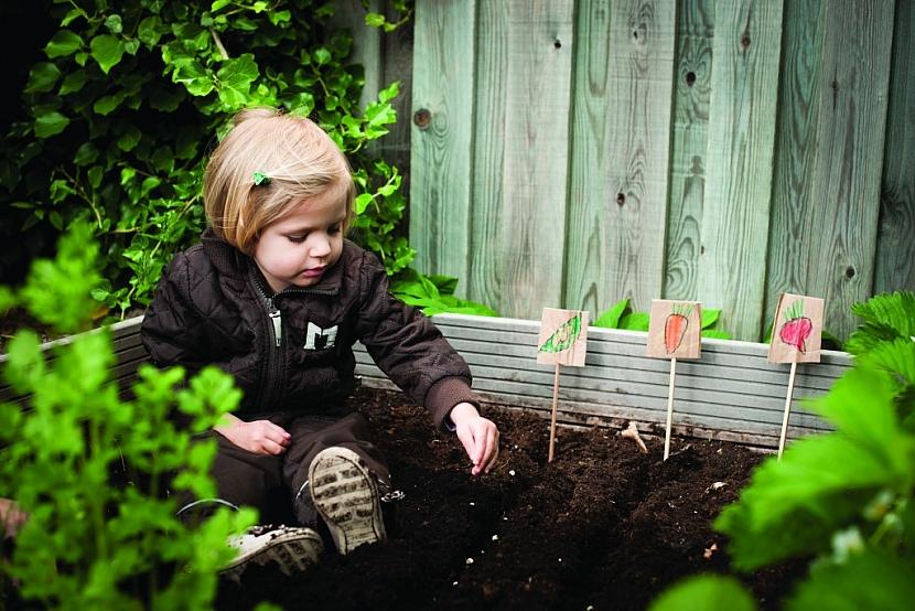 Zapojte malé pomocníky do podzimního úklidu zahrady!