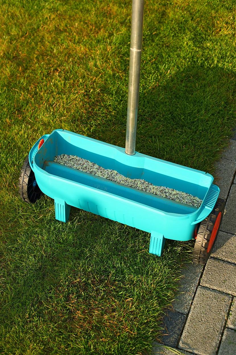 Rozmetání hnojiva