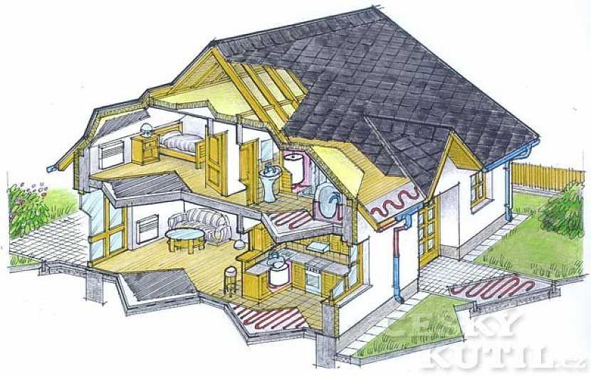 Vytápíme dům a byt – 6. díl: podlahové topení