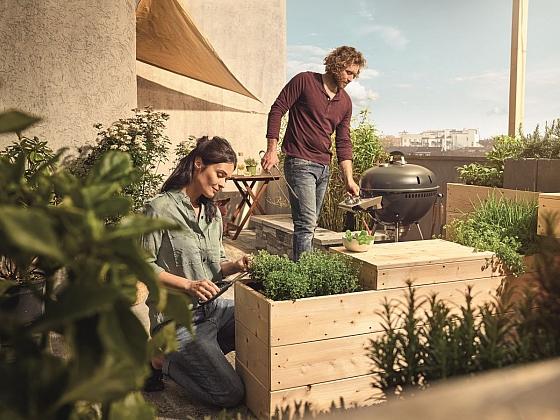 Jak si vytvořit zahrádku na balkóně (Zdroj: Hornbach)