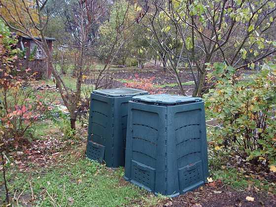 Základem kvalitní úrody je organicky bohatá půda z kompostéru (Zdroj: Jan Kopřiva)