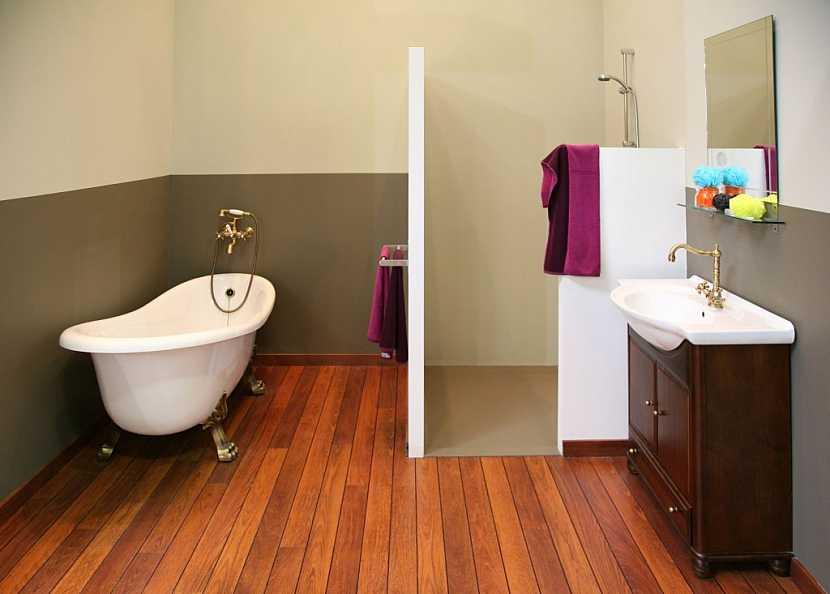 Koupelnový nábytek pomůže dotvořit retro styl koupelny