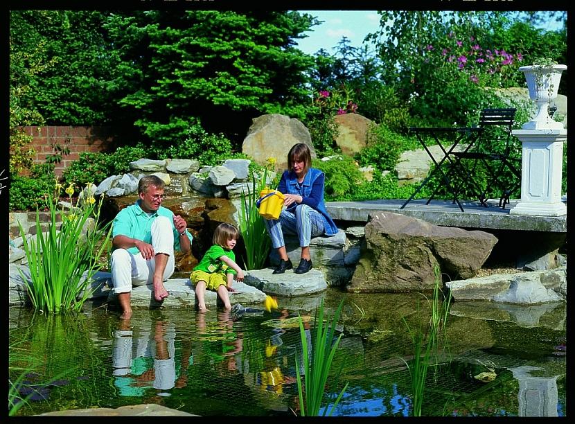 Zahradní rybníček přinese do zahrady život