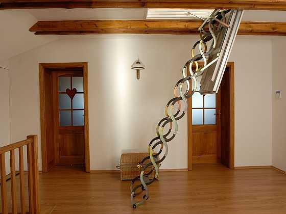 Stahovací půdní schody (Zdroj: JAP FUTURE)