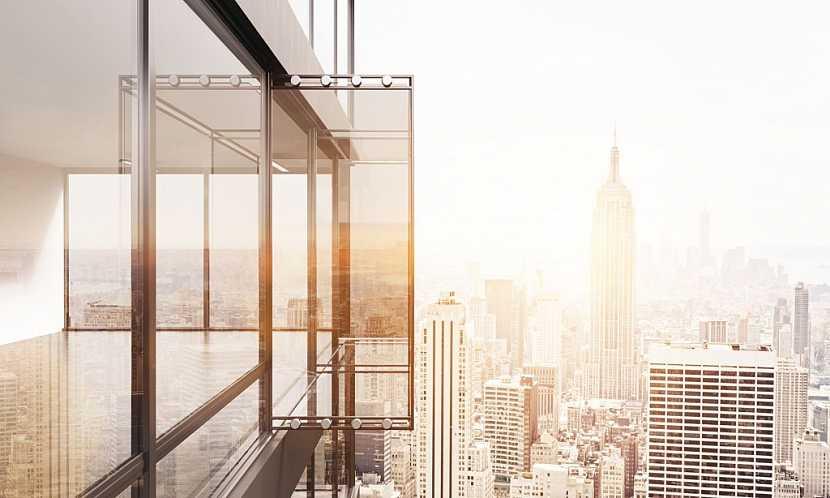 Rámové zasklení balkonů