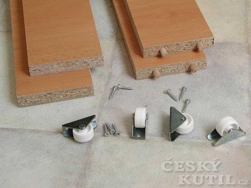 Šuplíky pod kuchyňskou linku