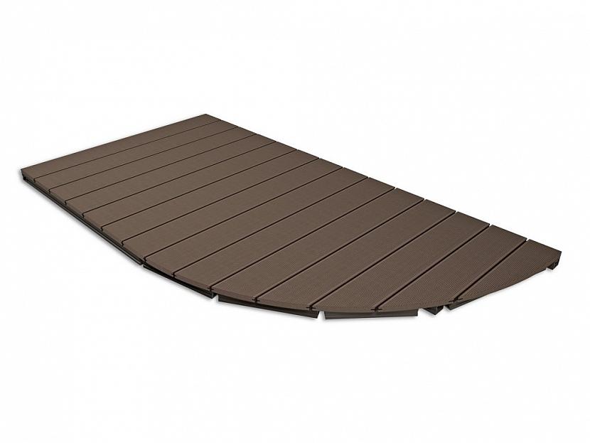 Terrace Massive – flexibilní a variabilní masivní desky ideální pro terasy se zaoblenými tvary
