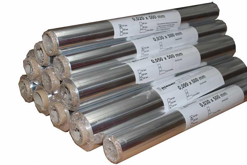 Použití hliníkových fólií