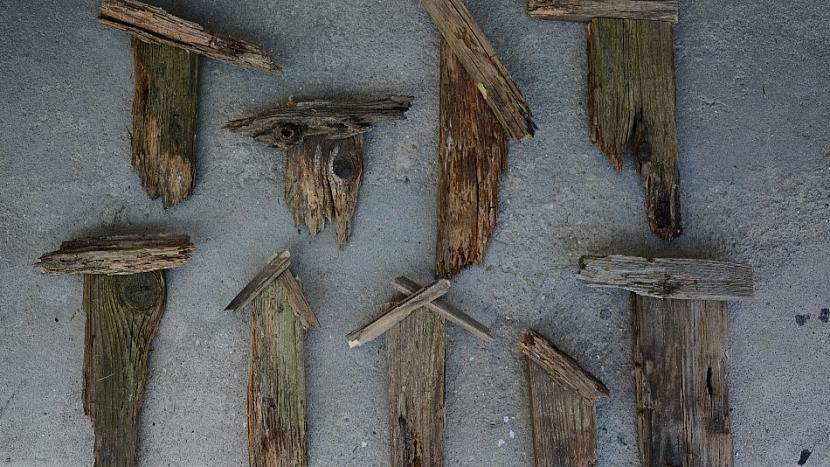 Domečky ze starého dřeva: domečky nejdříve sestavte nanečisto