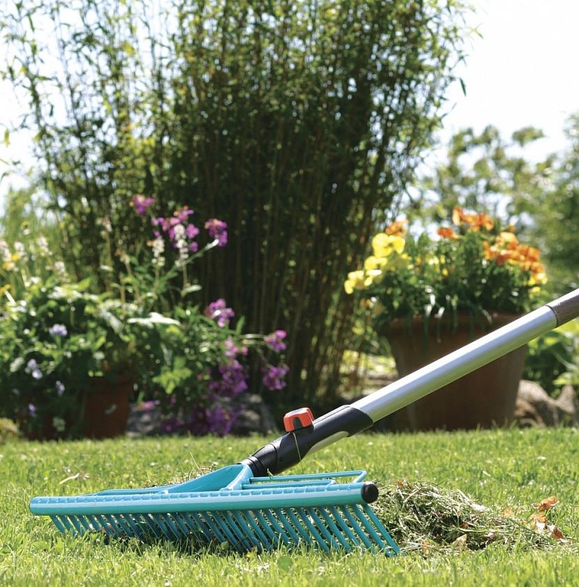 Jak pečovat o trávník? 1. Uklidit a vyčistit