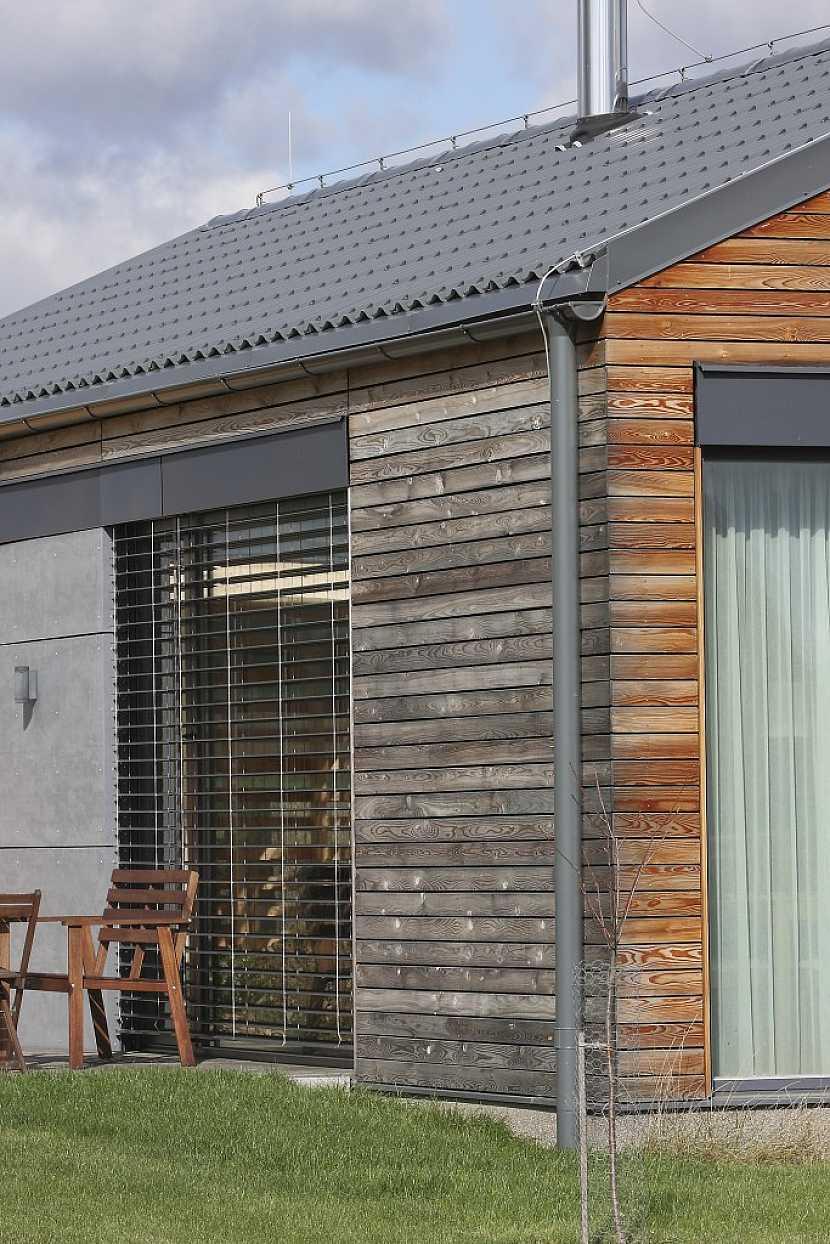Moderní krytina pro moderní dům