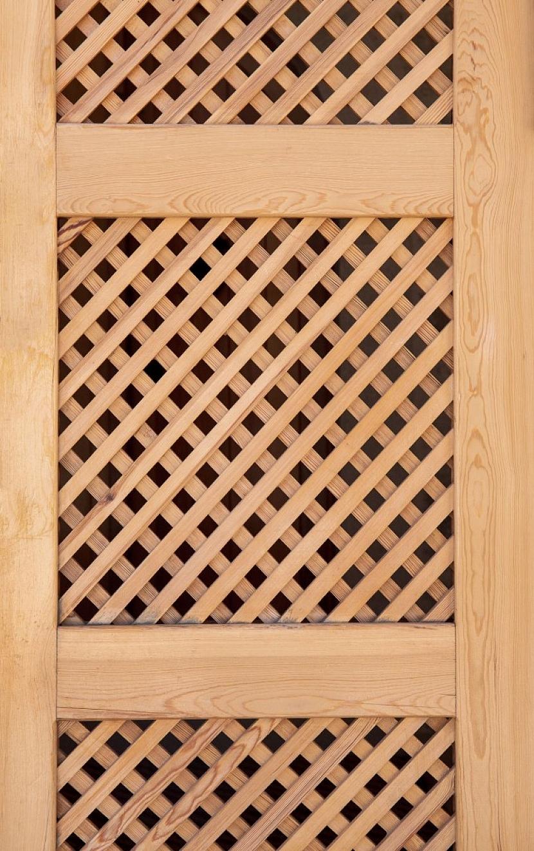 Dřevěné mříže zajistí větší soukromí