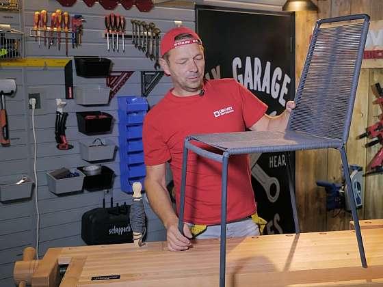 Vyrobte si z trubek stylovou židli (Zdroj: Prima DOMA MEDIA, s.r.o.)