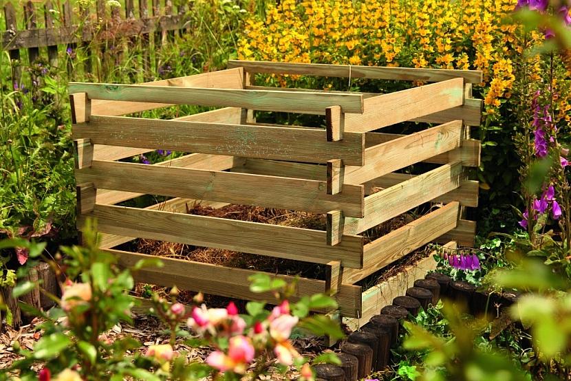 Kompostér dřevěný