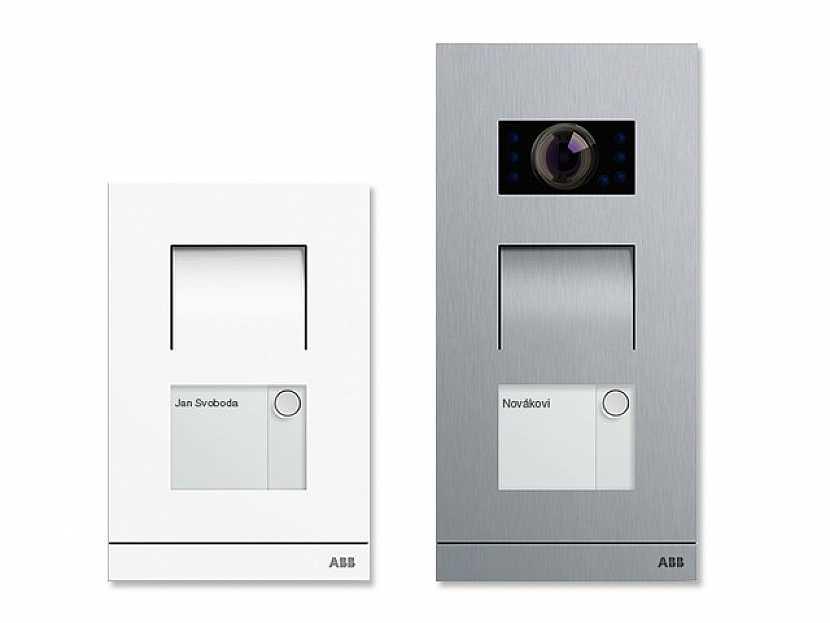 Tlačítková audio a video tabla ABB-Welcome