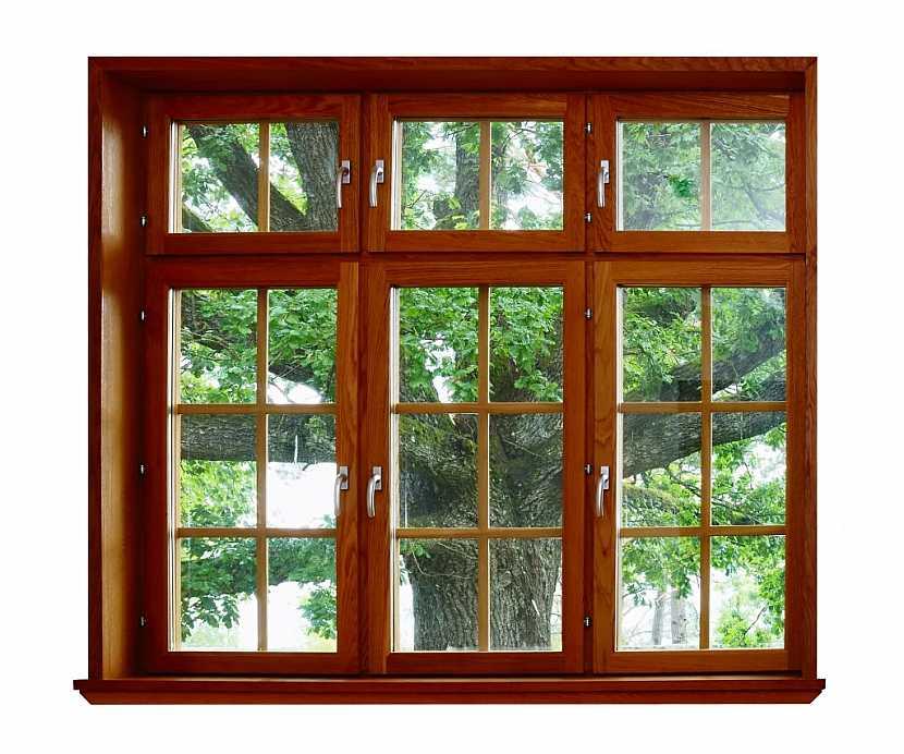 Plastová okna s imitací dřeva