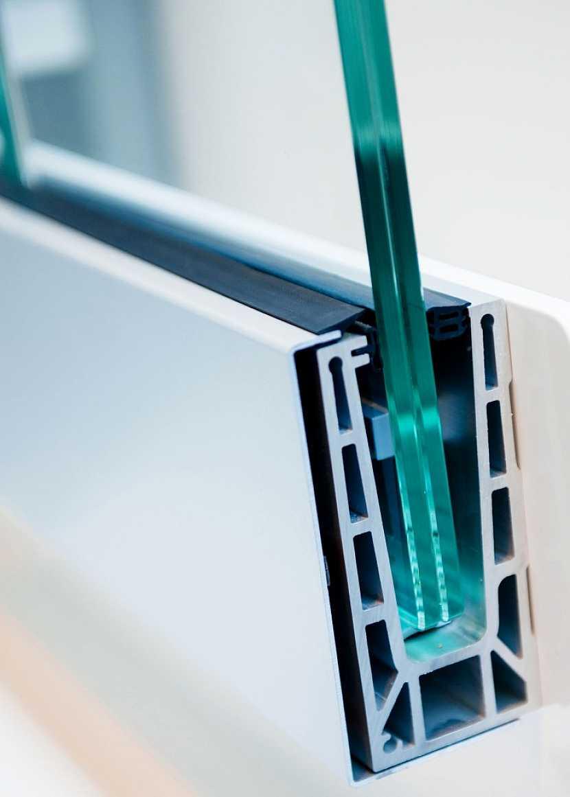 Příklad dithermového okna s dvojitým sklem