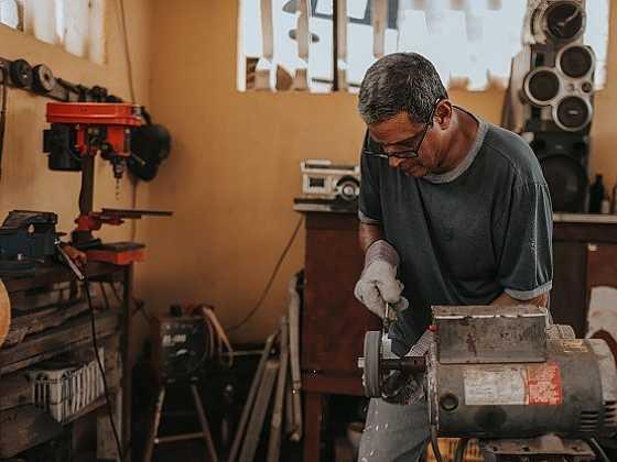 Dílna v domě aneb když řemeslník pracuje z domova