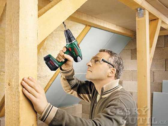 Vrtací šroubováky Bosch pro práci bez námahy