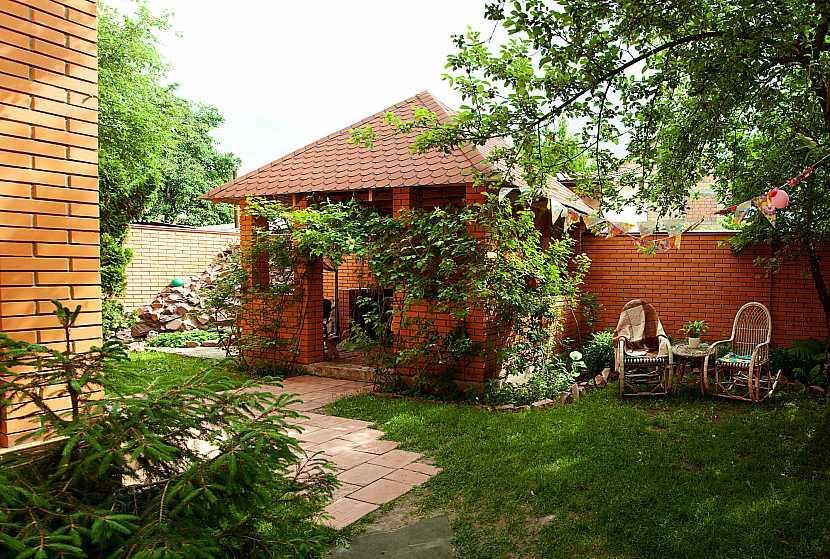 Domek na zahradě