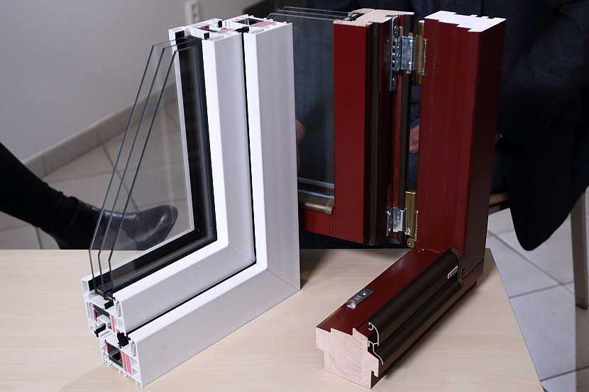 Průřez oknem