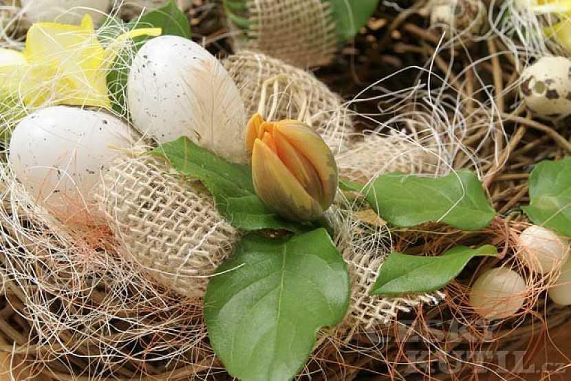 Jaro u vás doma – dekorativní věnec