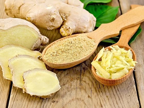 Zázvor působí také jako afrodiziakum a prevence rakoviny (Zdroj: Depositphotos.com)