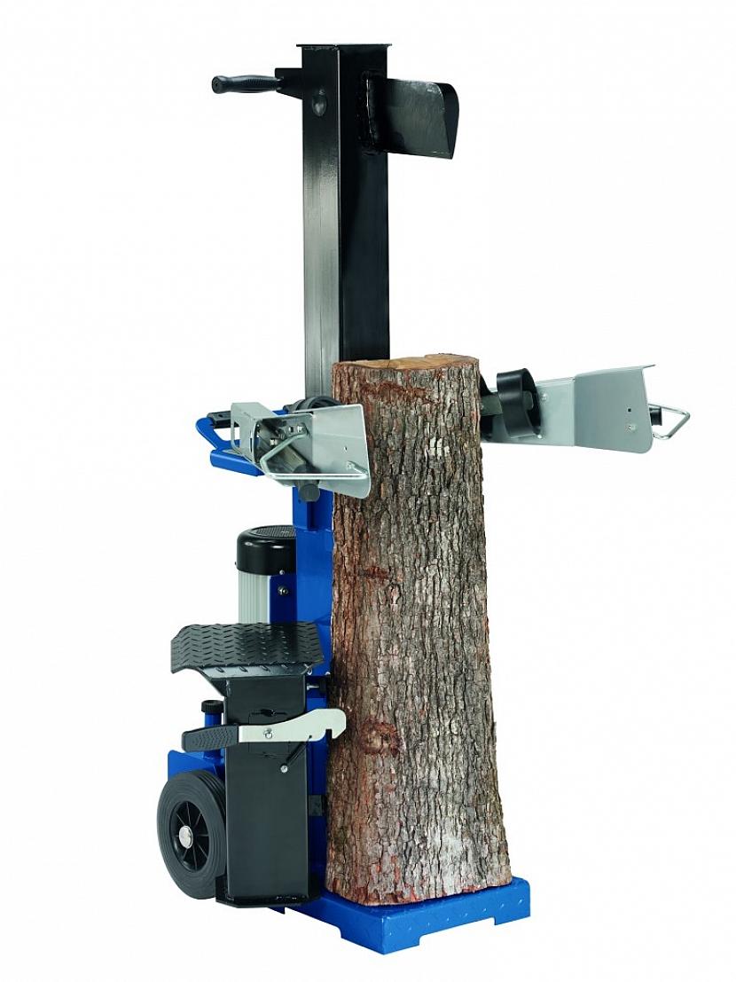 Štípač dřeva WoodSter LV 80 je neúnavný pracant