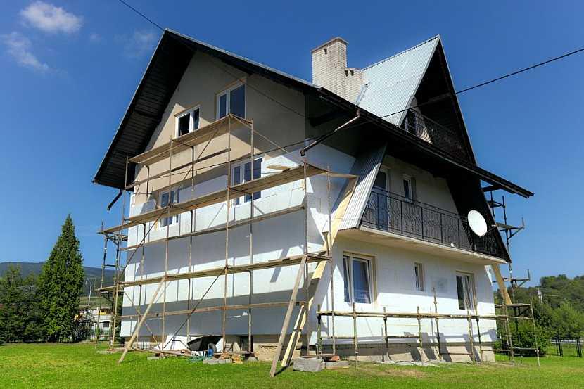 Zateplení domu pomocí polystyrenu
