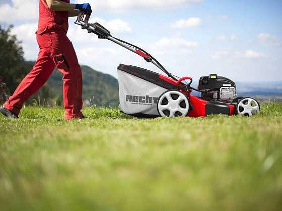 Nepodceňujte pravidelnou údržbu zahradní sekačky (Zdroj: HECHT MOTORS s.r.o.)